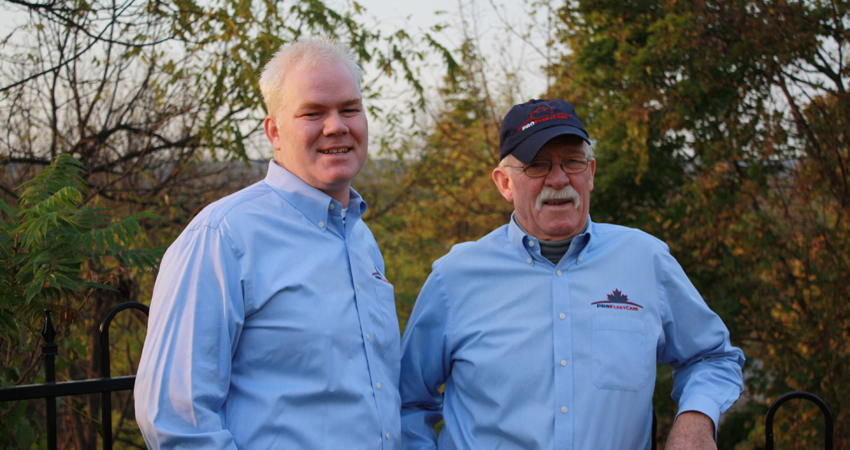 Greg and Bob Lawrie - Pro Fleet Care Mobile Rust Control and Rust Proofing Founders