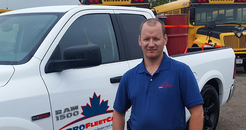 John Klassen - Pro Fleet Care Mobile Rust Control and Rust Proofing Franchisee - Lambton/Middlesex