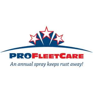 Pro Fleet Care Mobile Rust Control and Rust Proofing USA Logo