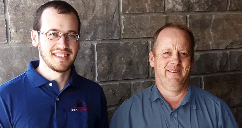 Dan and Abe Klassen - Pro Fleet Care Mobile Rust Control and Rust Proofing Franchisee - London/Elgin