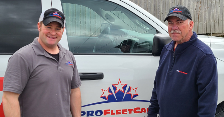 Kyle Fitzsimmons and Paul Yanna - Pro Fleet Care Mobile Rust Control and Rust Proofing Dealer