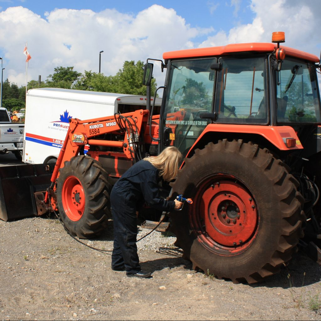 Pro Fleet Care Mobile Rust Control and Rust Proofing Farm Client