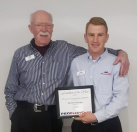 Bob Lawrie and Dervin Charles - Pro Fleet Care Mobile Rust Control and Rust Proofing Team
