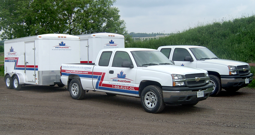 Pro Fleet Care Mobile Rust Control and Rust Proofing Trucks and Trailers