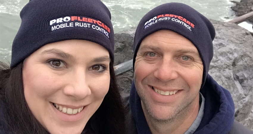 Kate and Jeff Bohman - Pro Fleet Care Mobile Rust Control and Rust Proofing Dealer - Central Wisconsin
