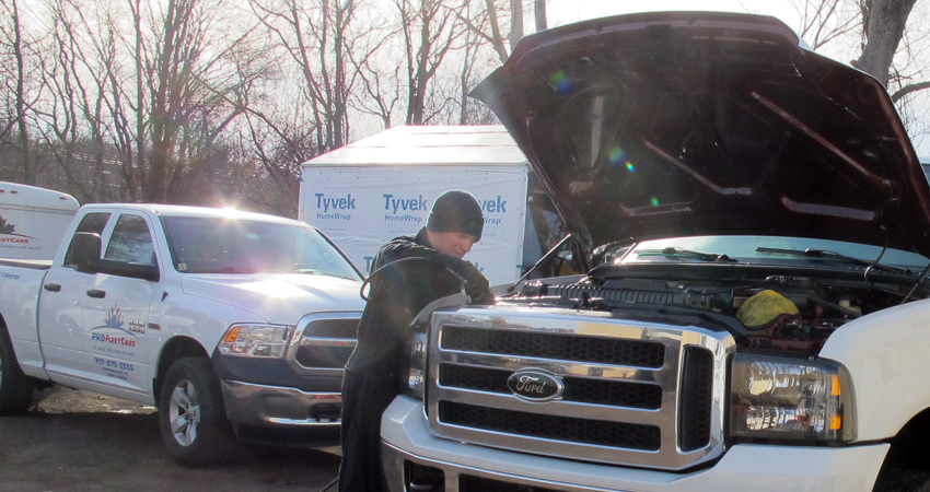 Pro Fleet Care Mobile Rust Control and Rust Proofing - Spraying