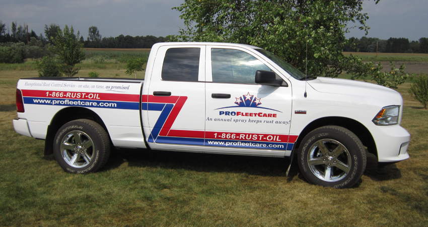 Pro Fleet Care Mobile Rust Control and Rust Proofing Truck