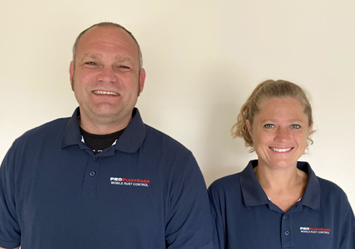 Eric Arcand and Leigh Ann Hess - Pro Fleet Care Mobile Rust Control and Rust Proofing Dealer - Eastern Maryland