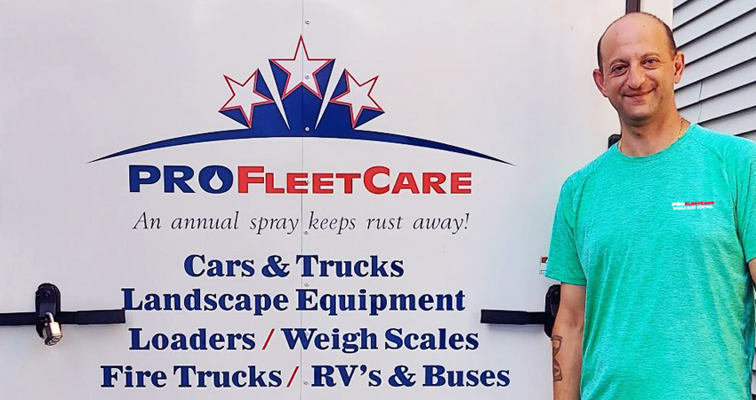 Steve Shapteban - Pro Fleet Care Mobile Rust Control and Rust Proofing Dealer - Central New Jersey